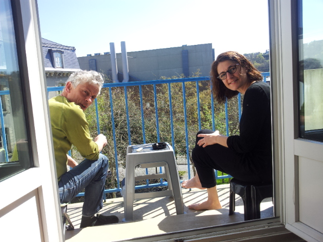 Roland & Marie at home in Quimper